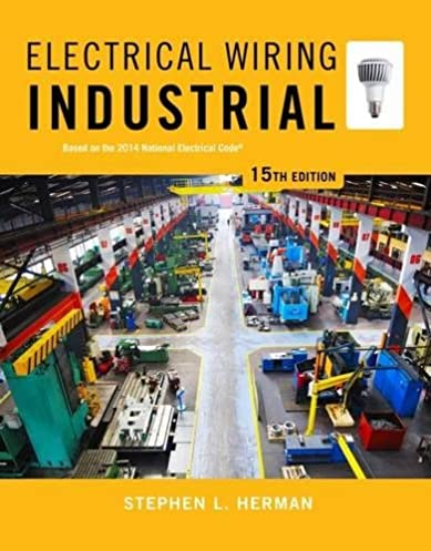 electrical wiring industrial stephen l herman 9781285054216 rh amazon com industrial electrical wiring trainers industrial electrical wiring books