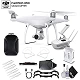 DJI Phantom 4 Pro (CP.PT.000488) With BackPack and VR Viewer Bundle