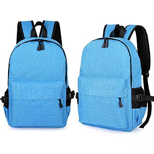 Anti splash Blue Travel Water USB Light Anti Men Scratch with Socket Charging rain and with for Laptop AIHOME Women Cover and Anti Slip Bag Backpack Anti qpw4CE7E
