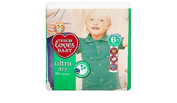 Tesco ama bebé Ultra Dry tamaño 6 + economía unidades 26: Amazon ...