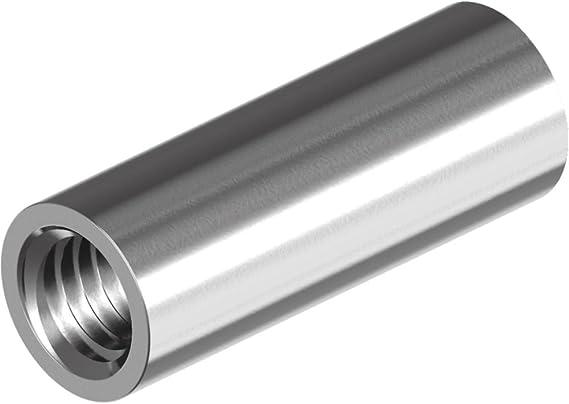 Edelstahl A2 Abstandshalter 20 St/ück Gewindemuffen M10 X 40 Sechskant Langmuttern OPIOL QUALITY | Sechskant-Muffen