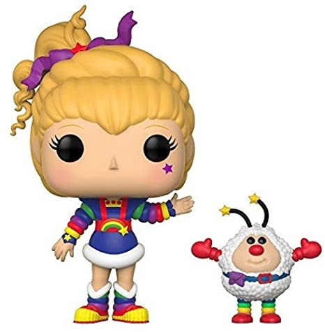 Funko POP! Animation: Rainbow Brite- Rainbow Brite and Twink 26722 Accessory Toys & Games