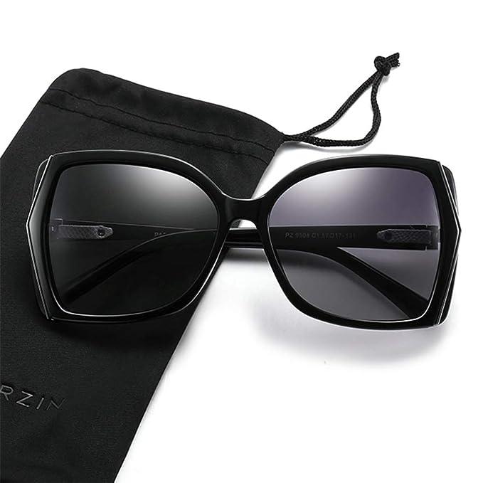 Amazon.com: Gafas de sol polarizadas para mujer, gafas de ...