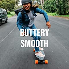 Key Features of Boosted Plus Electric Longboard Complete: Range: Go up to 14 miles with the extended range battery Speed: Get there faster with a 22 mph top speed Hill Climbing: Climb a 25% grade hill without breaking a sweat Ride Modes: 4 ri...