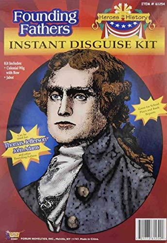 Forum Novelties F61254/218 Thomas Jefferson Kit (Thomas Jefferson Separation Of Church And State Quote)