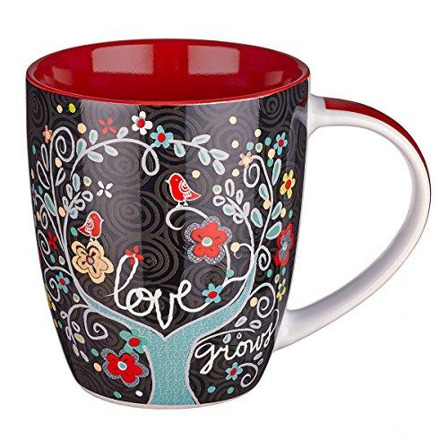 Love Grows Inspirational Mug Psalm product image