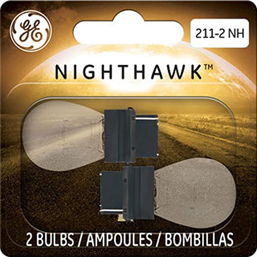 GE Lighting 211-2 NH/BP2 Nighthawk Replacement Bulbs, 2-Pack