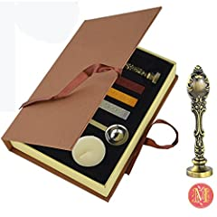 This kit is really cool,best gifts for friends and also for yourself! You can stamp your Christmas cards , and it's romantic for Valentine's Day use for love letters! This elegant seal adds a touch of value and permanence to letters, envelope...