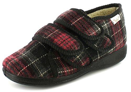Nuovo da donna/da donna Borgogna DR Keller Annie, Full Pantofole. , bordeaux, misure UK 3-8