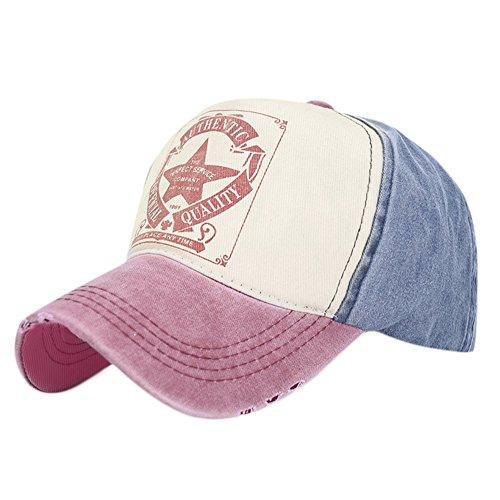 Vintage Baseball Cap Outdoor mütze (Winered)