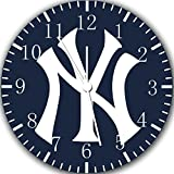 Yankees Borderless Frameless Wall Clock Z163 Nice For Decor Or Gifts