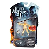 Paramount Movie Series The Last Airbender 4 Inch Tall Highly Articulated Action Figure - AANG with Battle Staff and Momo by The Last Airbender