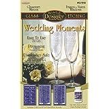 Armour Etch 12-7010 Designer Stencil Pak Wedding Moments