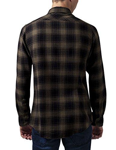 Para blk Camisa Classics olive Hombre Urban Multicolor wfPqBnp