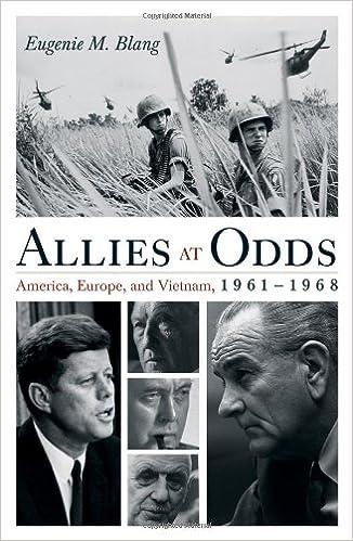 Book Allies at Odds: America, Europe, and Vietnam, 1961-1968 (Vietnam: America in the War Years)