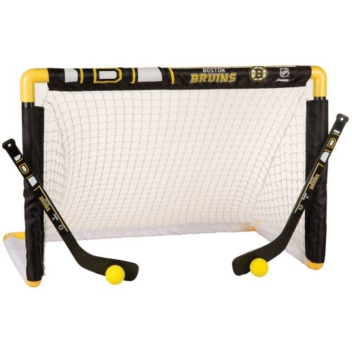 fan products of Franklin NHL Team Mini Knee Hockey Set - (Boston Bruins, )