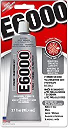 Eclectic Products 230012 3.7 oz Amazing E-6000 Craft Adhesive Uncarded, Clear 2 Pack