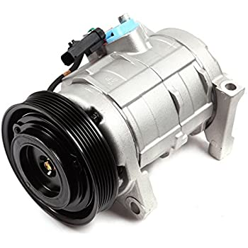 ECCPP A/C Compressor with Clutch fit for 2001-2007 Dodge Grand Caravan Plymouth Town Country Chrysler Voyager CO 29001C Car Air AC Compressors Kit