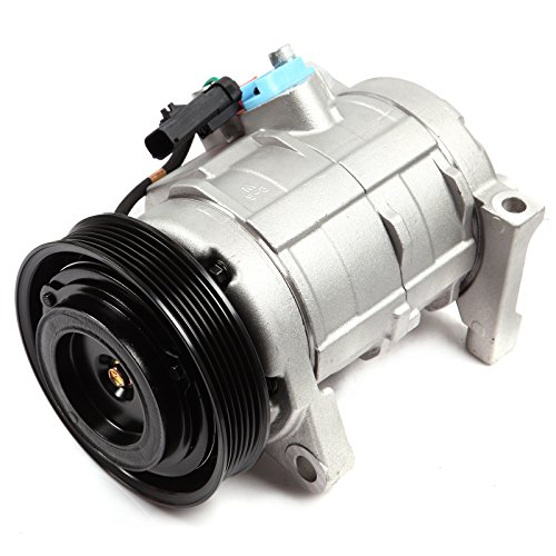 with Clutch fit for 2001-2007 Dodge Grand Caravan Plymouth Town Country Chrysler Voyager CO 29001C Car Air AC Compressors Kit ()
