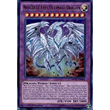 Yu-Gi-Oh! - Neo Blue-Eyes Ultimate Dragon (MVP1-EN001) - The Dark Side of Dimensions Movie Pack - 1st Edition - Ultra Rare by Yu-Gi-Oh!