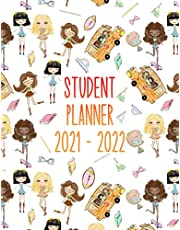 Student Planner: Dated Middle School and High School Student Planner for 2021-22 Academic Year