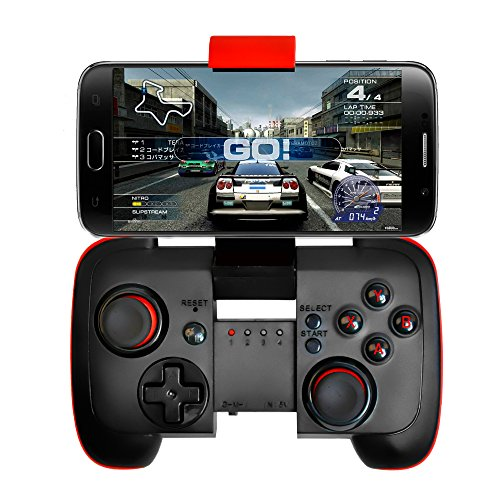 CamRom Wireless Bluetooth Game Controller Classic Gamepad Joystick Supports Android & IOS CA1041Z (Best Games For Rooted Phones)