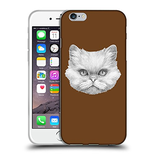 """GoGoMobile Coque de Protection TPU Silicone Case pour // Q05330633 chat persan Sépia // Apple iPhone 6 PLUS 5.5"""""""