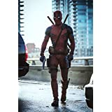 """DeadPool - Movie Poster (16"""" x 24"""") Glossy Finish (Thick, 8mil): Ryan Reynolds, Morena Baccarin"""