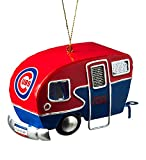 Team Sports America Metal Chicago Cubs Camper Ornament