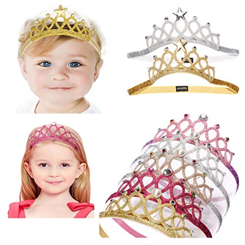 Baby Girl Headbands Toddler Princess Hairband Headwrap Children Hair Accessories Crown