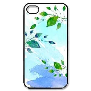 DIY High Quality Case for Iphone 4,4S, Aqua Story Phone Case - HL-695125