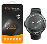 [2-Pack] Supershieldz for Ticwatch E (Express) Tempered Glass Screen Protector, Anti-Scratch, Bubble Free, Lifetime Replacement