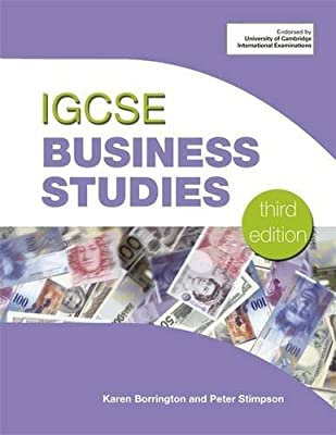 Igcse business studies 3rd ed by stimpson peter 034092649x the.
