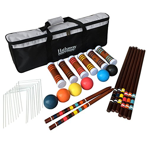 Hathaway 6-Player Croquet (6 Player Croquet Set)