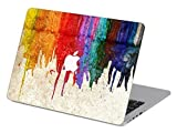 Customized Creative Flowing Color Series Colorful Dropping Paint Special Design Water Resistant Hard Case for Macbook Pro 13'' with Cd-rom Drive (Non-retina Display) Model A1278