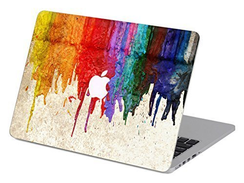 Customized Creative Flowing Color Series Colorful Dropping Paint Special Design Water Resistant Hard Case for Macbook Pro 13'' with Cd-rom Drive (Non-retina Display) Model A1278 by Didos Secret