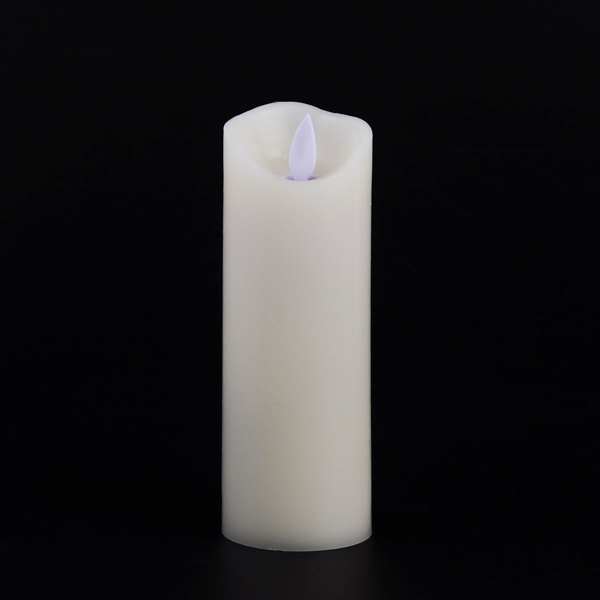 Pandaing Flameless Candles Set of 5 Battery Operated LED Pillar Real Wax Moving Flame Flickering Electric Candle Gift Set with Remote Control Cycling 24 Hours Timer P-02101 D 3 x H 4 4 5 6 7