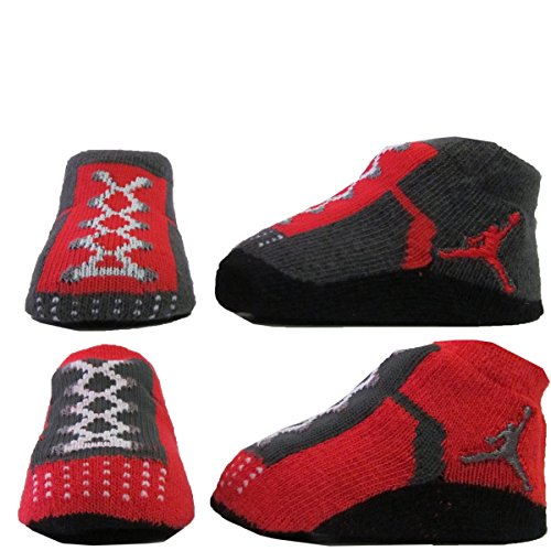 Baby Boy Gifts Uae : Nike air jordan newborn infant baby booties socks black