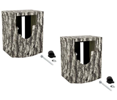 (2) MOULTRIE MCA-12605 Mini Game Camera Security Boxes Fits M-990i M-880 D-555i