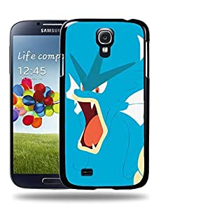 Case88 Designs Pokemon Gyarados Protective Snap-on Hard Back Case Cover for Samsung Galaxy S4 by supermalls