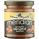 Meridian - Crema de Almendras Suave 170g (Paquete de 3)