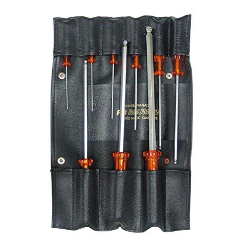 生活日用品 DIYグッズ工具 K206S-9 'ボールポイントドライバーセット 袋入り B07566GZQ5