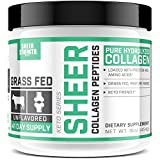 Premium Collagen Peptides Powder (16oz) | Natural Skin, Hair, Bones & Joint Support for Women & Men | Paleo-Friendly, Non-GMO & Gluten-Free | Unflavored & Easy to Mix – Sheer Strength Labs For Sale