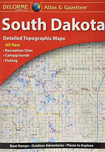 DeLorme® South Dakota Atlas & Gazetteer (Delorme Atlas & ()