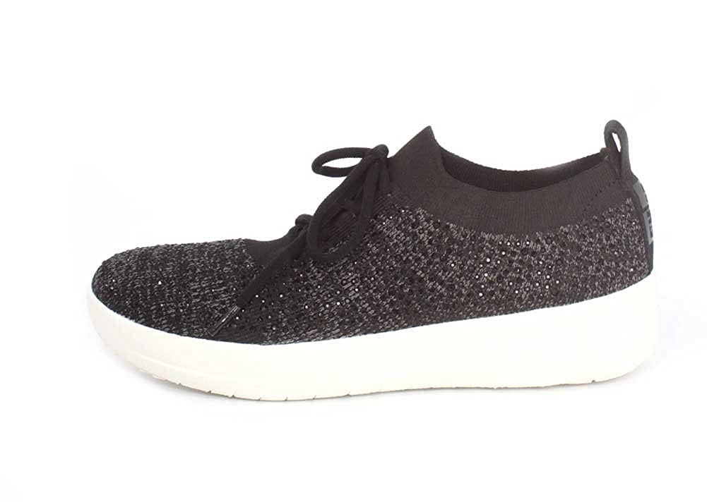 2dca440e2 FitFlop Women s F-Sporty Uberknit Sneakers - Metallic Trainers