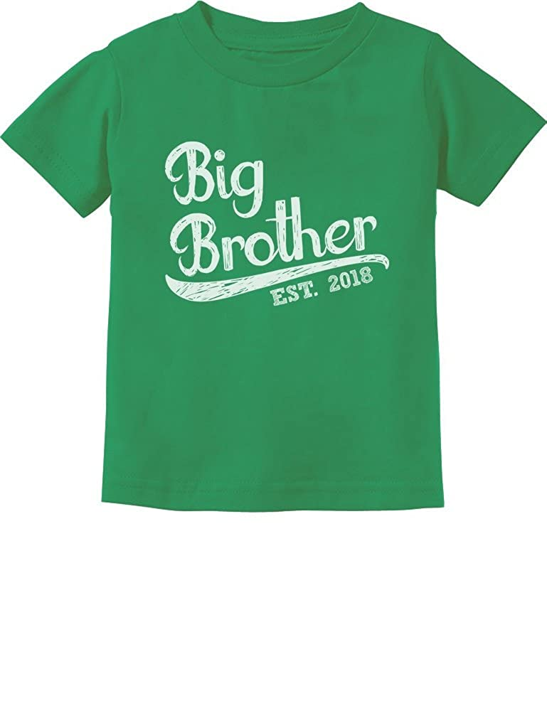 Gift for Big Brother 2018 Kids T-Shirt with Big Brother Stickers GM00ZMgm