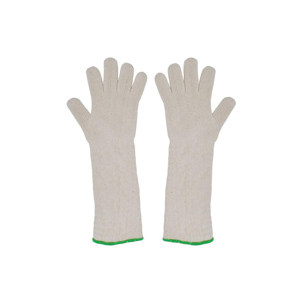 YYTLST High Temperature Resistant Gloves, Double Knit Process, Wear Resistant and Heat Insulation, Length 45cm, Suitable for Industrial Plants (Color : Ten Pairs) by YYTLST