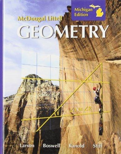 Holt McDougal Larson Geometry: Student Edition 2008