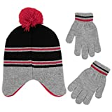 The Simpsons Boys' Little Bart Hat and Gloves Cold