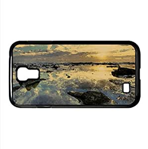 Before The Sunset, HDR Watercolor style Cover Samsung Galaxy S4 I9500 Case (Beach Watercolor style Cover Samsung Galaxy S4 I9500 Case)